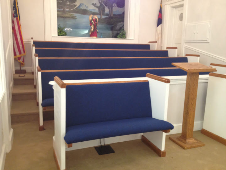 Pew Installation
